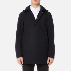 Herno Men's Laminar 2 Layer GORE-TEX Hooded Jacket - Navy