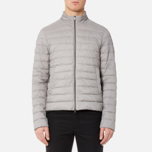 Herno Men's Luxury Padded Bomber Jacket - Perla