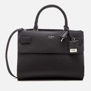 Guess Women's Cate Satchel - Black