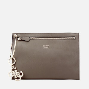 Guess Women's Digital Ring Clutch Bag - Fog