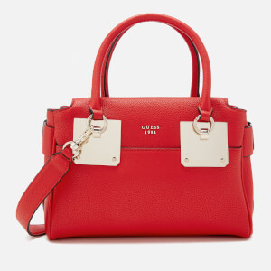 Guess Women's Luma Small Girlfriend Satchel - Lipstick