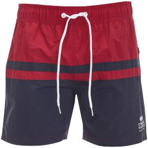 Crosshatch Men's Teesdale Swim Shorts - Biking Red