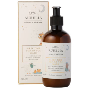 Little Aurelia from Aurelia Probiotic Skincare Sleep Time Top to Toe Wash 240 ml