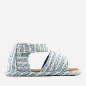TOMS Babies' Shiloh Sandals - Sky Washed Stripe