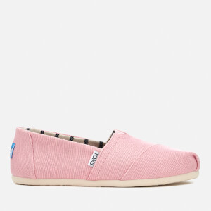 TOMS Women's Alpargata Slip-On Pumps - Powder Pink