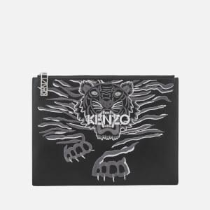 KENZO Women's Icon A4 Pouch - Black