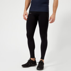 FALKE Ergonomic Sport System Men's Long Compression Tights - Black