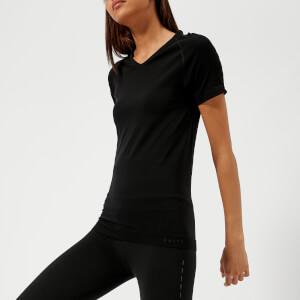 FALKE Ergonomic Sport System Women's Short Sleeve Comfort Fit T-Shirt - Black
