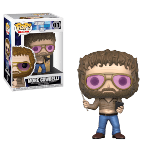 "Saturday Night Live Gene Frenkle """"More Cowbell"""" Funko Pop! Vinyl"