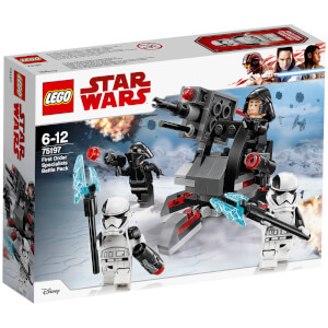 LEGO Star Wars Les Derniers Jedi : Battle Pack experts du Premier Ordre (75197)