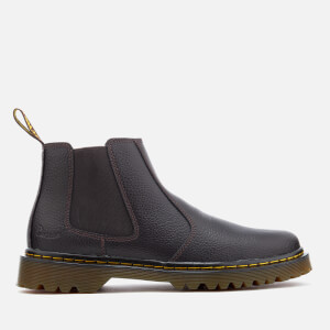 Dr. Martens Men's Landon Grainy Low Boots - Dark Brown
