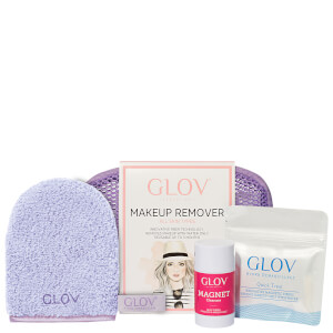GLOV Hydro Cleanser Travel Set - Purple (Worth £26.70)