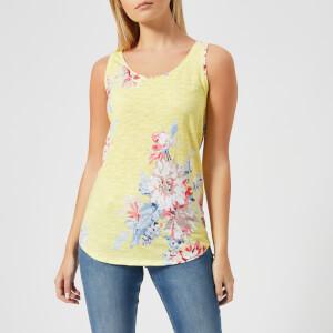 Joules Women's Bo Printed Vest - Lemon Whitstable Floral
