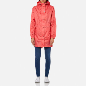 Joules Women's Golightly Plain Waterproof Packaway Jacket - Red Sky