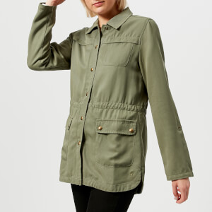 Joules Women's Cassidy Safari Jacket - Soft Khaki