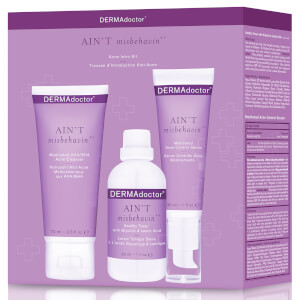 DERMAdoctor Ain't Misbehavin' Acne Intro Kit
