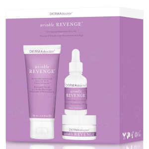 DERMAdoctor Wrinkle Revenge Anti-Aging Essentials Intro Kit