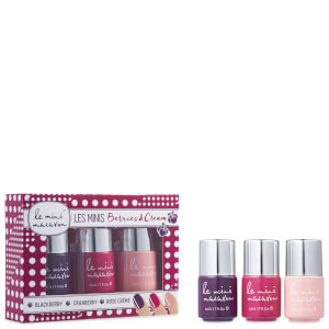 Le Mini Macaron Les Minis Gel Polish Trio - Berries and Cream