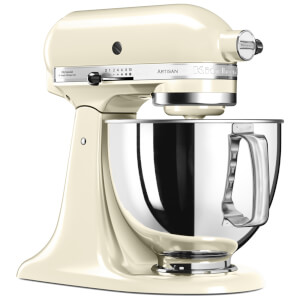 KitchenAid 5KSM175PSBAC Artisan 4.8L Stand Mixer - Almond Cream
