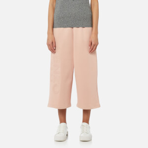KENZO Women's Light Cotton Molleton Cullot Sweatpants - Nude