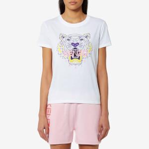 KENZO Women's Classic Tiger T-Shirt - White