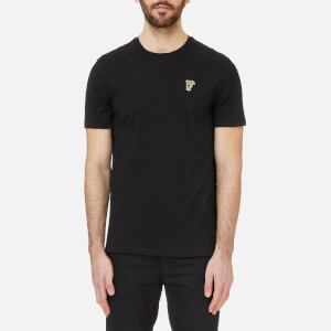 Versace Collection Men's Small Logo T-Shirt - Black/Gold