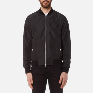 Versace Collection Men's Zipped Blouson Jacket - Nero