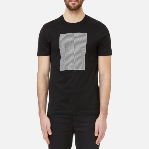 Versace Collection Men's Box Logo T-Shirt - Nero/Stampa