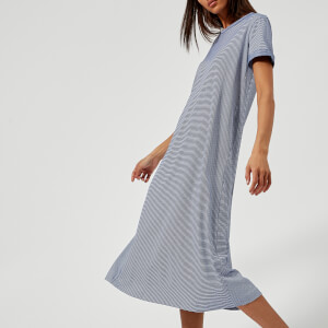 A.P.C. Women's Lala T-Shirt Dress - Bleu Fonce