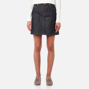 A.P.C. Women's Standard Denim Skirt - Indigo