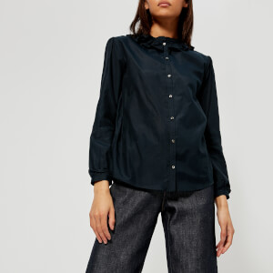 A.P.C. Women's Josephine Blouse - Dark Navy