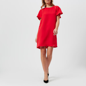 Armani Exchange Women's Crepe Dress - Poppy Red