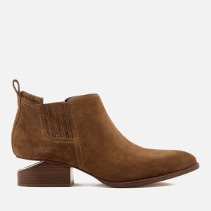 Alexander Wang Women's Kori Suede Chelsea Boots - Dark Truffle