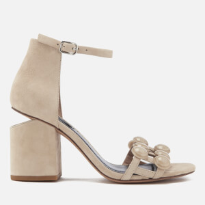 Alexander Wang Women's Abby Suede Heeled Sandals - Cashmere