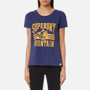 Superdry Women's Jamie Boyfriend T-Shirt - College Navy