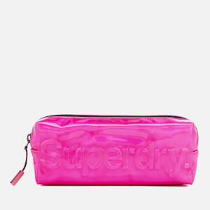 Superdry Women's Holographic Jelly Pencil Case - Pink