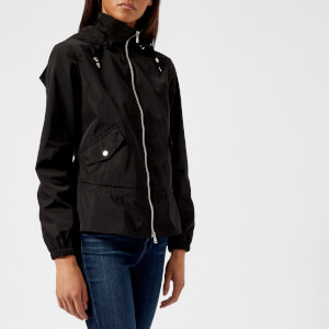 Emporio Armani Women's Blouson Hooded Jacket - Black