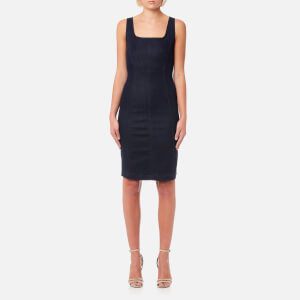 Emporio Armani Women's Fitted Classic Dress - Blue