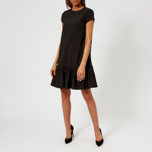 Emporio Armani Women's Ruffle Dress - Black