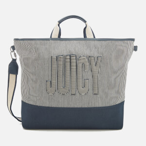 Juicy Couture Women's Parker Canvas Tote Bag - Navy Stripe