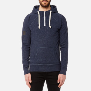Superdry Men's Surplus Goods High Rise Hoody - Abyss Blue Grit
