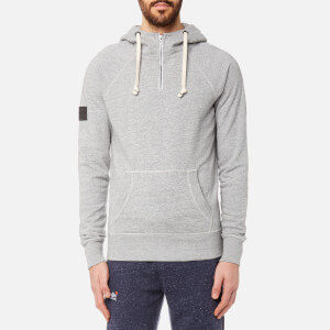 Superdry Men's Surplus Goods High Rise Hoody - Hudson Grey Grit