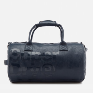 Superdry Men's Lineman Barrel Bag - Navy