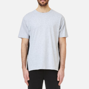 Versus Versace Men's Collar Logo T-Shirt - Grey/Black