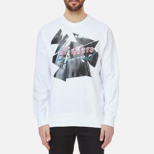 Versus Versace Men's Printed Sweatshirt - White/Stampa