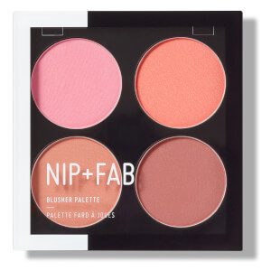 NIP+FAB Make Up Blusher Palette -poskipunapaletti, Blushed 15,2g
