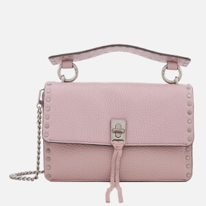 Rebecca Minkoff Women's Darren Top Handle Flap Cross Body Bag - Vintage Pink
