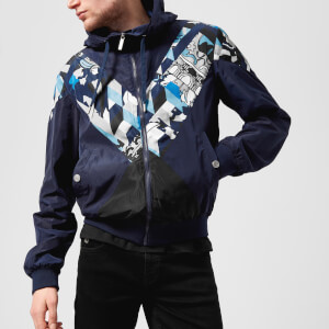 Versace Jeans Men's V Insert Jacket - Bluette