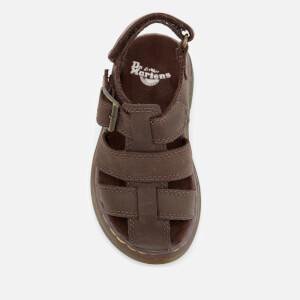Dr. Martens Toddlers' Moby Wyoming Sandals - Dark Brown: Image 4