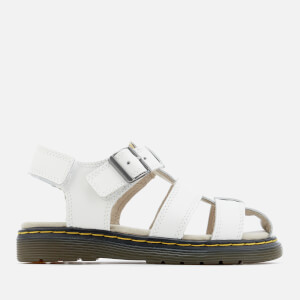 Dr. Martens Kids' Sailor Lamper Sandals - White